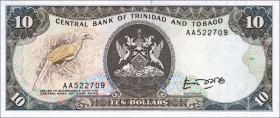 Trinidad & Tobago P.38a 10 Dollars (1985) (1)
