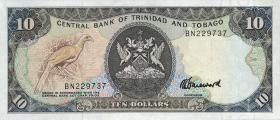Trinidad & Tobago P.38c 10 Dollars (1985) (1)