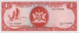 Trinidad & Tobago P.30b 1 Dollar (1977) (1)