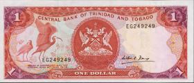 Trinidad & Tobago P.36b 1 Dollar (1985) (1)