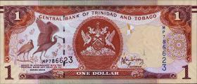 Trinidad & Tobago P.46A 1 Dollar 2006 (2014)  (1)