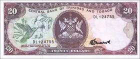 Trinidad & Tobago P.39c 20 Dollars (1985) (1)
