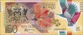 Trinidad & Tobago P.59 50 Dollars 2015 Polymer (1)