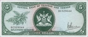 Trinidad & Tobago P.31a 5 Dollars (1977) (1)
