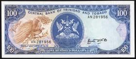 Trinidad & Tobago P.40a 100 Dollars (1985) (1)