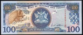 Trinidad & Tobago P.45b 100 Dollars 2002 (1)