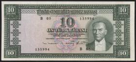 Türkei / Turkey P.161 10 Lira 1930 (1)