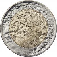 Türkei 1 Lira 2012 Hirsch