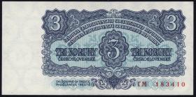 Tschechoslowakei / Czechoslovakia P.81 3 Kronen 1961 (1)