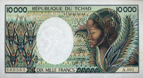 Tschad / Chad P.12a 10000 Francs (1984-91) (1)