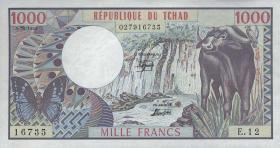 Tschad / Chad P.07 1000 Francs 1.6.1980 (1)