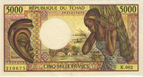 Tschad / Chad P.11 5000 Francs (1984-91) (2)