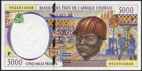 Zentral-Afrikanische-Staaten / Central African States P.604Pe 5000 Francs 1999 (1)
