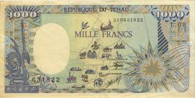 Tschad, Rep. / Chad P.10Aa 1000 Francs 1990 (3)