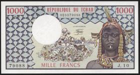 Tschad / Chad P.03c 1000 Francs 1978 (1)