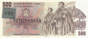Tschechien / Czech Republic P.02 500 Kronen (1993) (1)