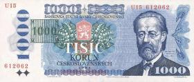 Tschechien / Czech Republic P.03b 1000 Kronen (1993) (1)