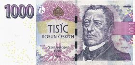 Tschechien / Czech Republic P.25 1000 Kronen 2008 (1)