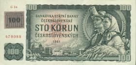Tschechien / Czech Republic P.01c 100 Kronen (1993) (2)
