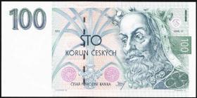 Tschechien / Czech Republic P.05a 100 Kronen 1993 (1)