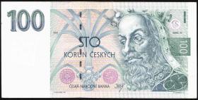 Tschechien / Czech Republic P.05a 100 Kronen 1993 (2)
