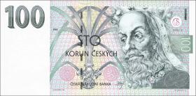 Tschechien / Czech Republic P.12 100 Kronen 1995 (1)