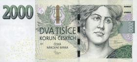 Tschechien / Czech Republic P.26 2000 Kronen 2007 (1)