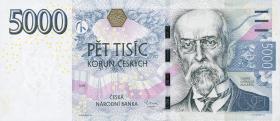 Tschechien / Czech Republic P.27 5000 Kronen 2009 (1)