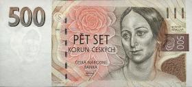 Tschechien / Czech Republic P.07 500 Kronen 1993 (1)