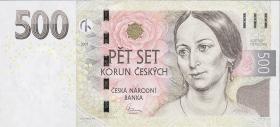 Tschechien / Czech Republic P.24 500 Kronen 2009 (1)