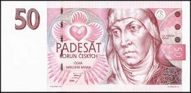 Tschechien / Czech Republic P.11 50 Kronen 1994 (1)