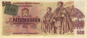 Tschechien / Czech Republic P.02 500 Kronen (1993) (3)