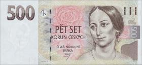 Tschechien / Czech Republic P.20 500 Kronen 1997 (1)