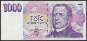 Tschechien / Czech Republic P.08a 1.000 Kronen 1993 (1)