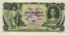Tschechoslowakei / Czechoslovakia P.23s 100 Kronen 1931 Specimen (1)