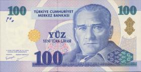 Türkei / Turkey P.221 100 Neue Lira 2005 (1)