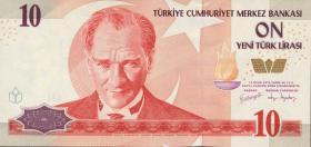 Türkei / Turkey P.218 10 Neue Lira 2005 (1)