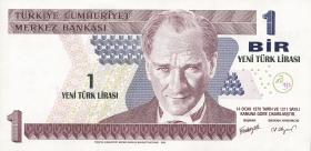 Türkei / Turkey P.216 1 Neue Lira 2005 (1)