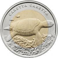 Türkei 1 Lira 2009 Schildkröte