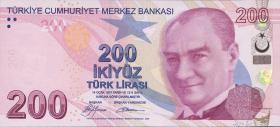 Türkei / Turkey P.227a 200 Lira 2009 (1)