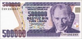 Türkei / Turkey P.208 500.000 Lira 1970 (1993) (1)