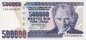 Türkei / Turkey P.212 500.000 Lira 1970 (1998) (1)