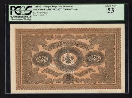 Türkei / Turkey P.053a 100 Kurush 1877 (1/1-)