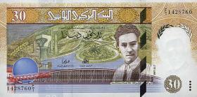 Tunesien / Tunisia P.89 30 Dinars 1997 (1)