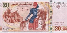 Tunesien / Tunisia P.93a 20 Dinars 2011 (1)