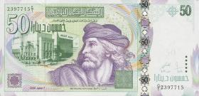Tunesien / Tunisia P.91 50 Dinars 2008 (1)