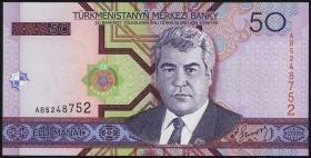 Turkmenistan P.17 50 Manat 2005 (1)