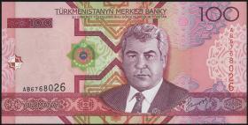 Turkmenistan P.18 100 Manat 2005 (1)