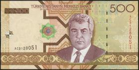 Turkmenistan P.19 500 Manat 2005 (1)