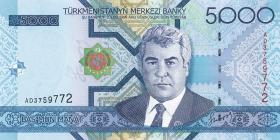 Turkmenistan P.21 5000 Manat 2005 (1)